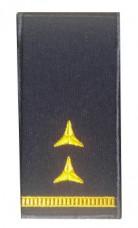 Погон Головний майстер-сержант ДСНС (жовтий) Універсальний - муфта-липучка
