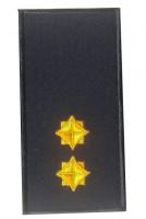 Погон лейтенант ДСНС 2018р (жовтий) Універсальний - муфта-липучка