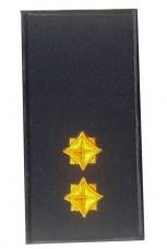 Погони лейтенант ДСНС 2018р (жовтий) Універсальний - муфта-липучка