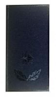 Погон майор ДСНС (синій) Універсальний - муфта-липучка