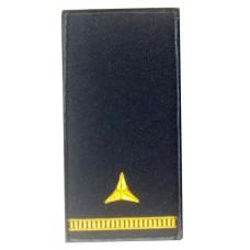 Погони майстер-сержант ДСНС (жовтий) Універсальний - муфта-липучка