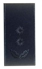 Погон підполковник ДСНС (синій) Універсальний - муфта-липучка