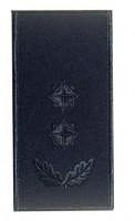 Погони підполковник ДСНС (синій) Універсальний - муфта-липучка