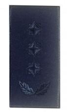 Погони полковник ДСНС (синій) Універсальний - муфта-липучка