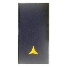 Погон сержант ДСНС (жовтий) Універсальний - муфта-липучка