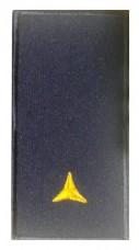 Погони сержант ДСНС (жовтий) Універсальний - муфта-липучка