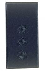 Погони старший лейтенант ДСНС (синій) Універсальний - муфта-липучка