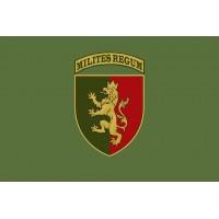 Прапор 24 ОМБр ім. короля Данила Хакі Шеврон бригади