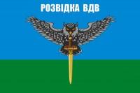 Прапор Розвідка ВДВ (сова з мечом)