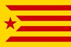 Прапор Каталонії Червона Зірка