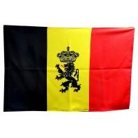 Флаг Бельгии с гербом