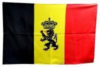 Прапор Бельгії з гербом