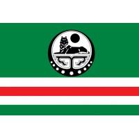 Прапор Ічкерії (білий символ)