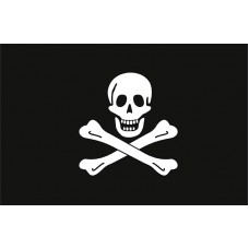 Піратський прапор череп і кістки