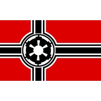 Прапор Зоряні Війни - Галактична Імперія