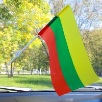 Автомобільний прапорець Литва