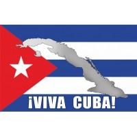 Флаг Кубы VIVA CUBA