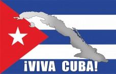 Прапор Куби VIVA CUBA