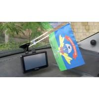Флажок в авто 122-й окремий аеромобільний батальйон 81й бригады