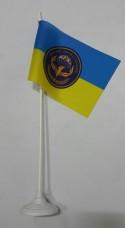 Настільний прапорець батальйону Фенікс 79 бригада ВДВ Миколаїв (укр)