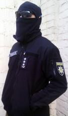 Купить Куртка флисовая ТАКТИКА черная, 6 карманов  в интернет-магазине Каптерка в Киеве и Украине