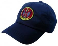 Бейсболка морская пехота черная