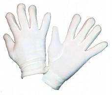 Перчатки флисовые белые