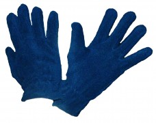 Перчатки флисовые темно-синие