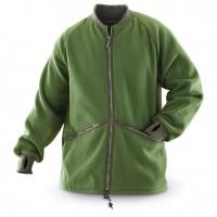 Куртка флисовая олива оригинал армии Великобритании