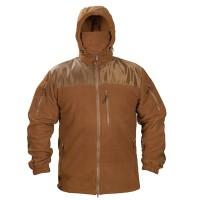 Флисовая куртка с капюшоном Блокпост Coyote 6 карманов 330гм