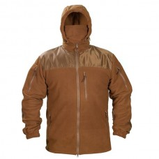 Купить Флисовая куртка с капюшоном Coyote 6 карманов 330гм АКЦИЯ последний размер  в интернет-магазине Каптерка в Киеве и Украине