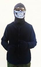 Купить Флісова кофта чорна АКЦІЯ останній розмір в интернет-магазине Каптерка в Киеве и Украине