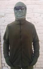 Купить Флиска на молнии, 2 кармана. Хаки АКЦИЯ на последний размер в интернет-магазине Каптерка в Киеве и Украине
