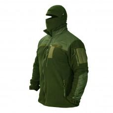 Куртка флисовая ТАКТИКА олива 6 карманов