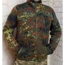 Куртка флісова камуфляж Flecktarn
