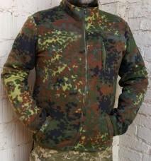 Куртка флисовая камуфляж Flecktarn