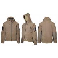 Куртка флисовая M-Tac WindBlock Division Coyot