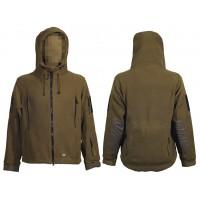Куртка флисовая M-Tac Division TAN