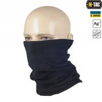 M-Tac зимний шарф-труба CORAL FLEECE черный. Комфорт холод **