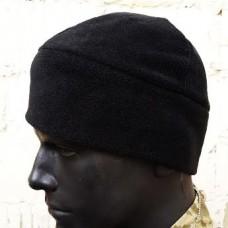 Шапка флисовая черная Комфорт холод **