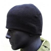 Шапка флисовая Patrol black (черная) Комфорт холод ***