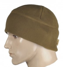 Шапка флисовая M-TAC WATCH CAP койот 330гм комфорт холод ****