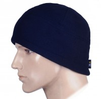 Шапка флисовая M-TAC WATCH CAP ELITE DARK NAVY BLUE темно-синяя Комфорт холод ***