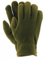Перчатки флисовые REIS цвет олива