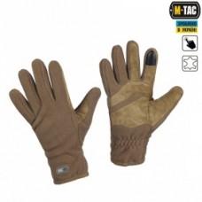 Зимові рукавички M-Tac Winter Tactical Windblock 380 Coyote