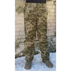 Зимние штаны на флисе камуфляж укрпиксель АКЦИЯ последний размер