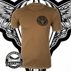 Футболка ДШВ Coolmax Ukrainian Airborne (Coyote)