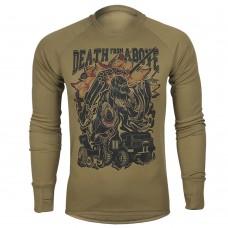 Реглан Артилерія DEATH from ABOVE (coyote) Coolmax
