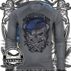 Реглан ВДВ Війська Дурного Виховання (сірий) Coolmax