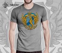 Футболка морський спецназ України Dum Spiro Spero (сіра)